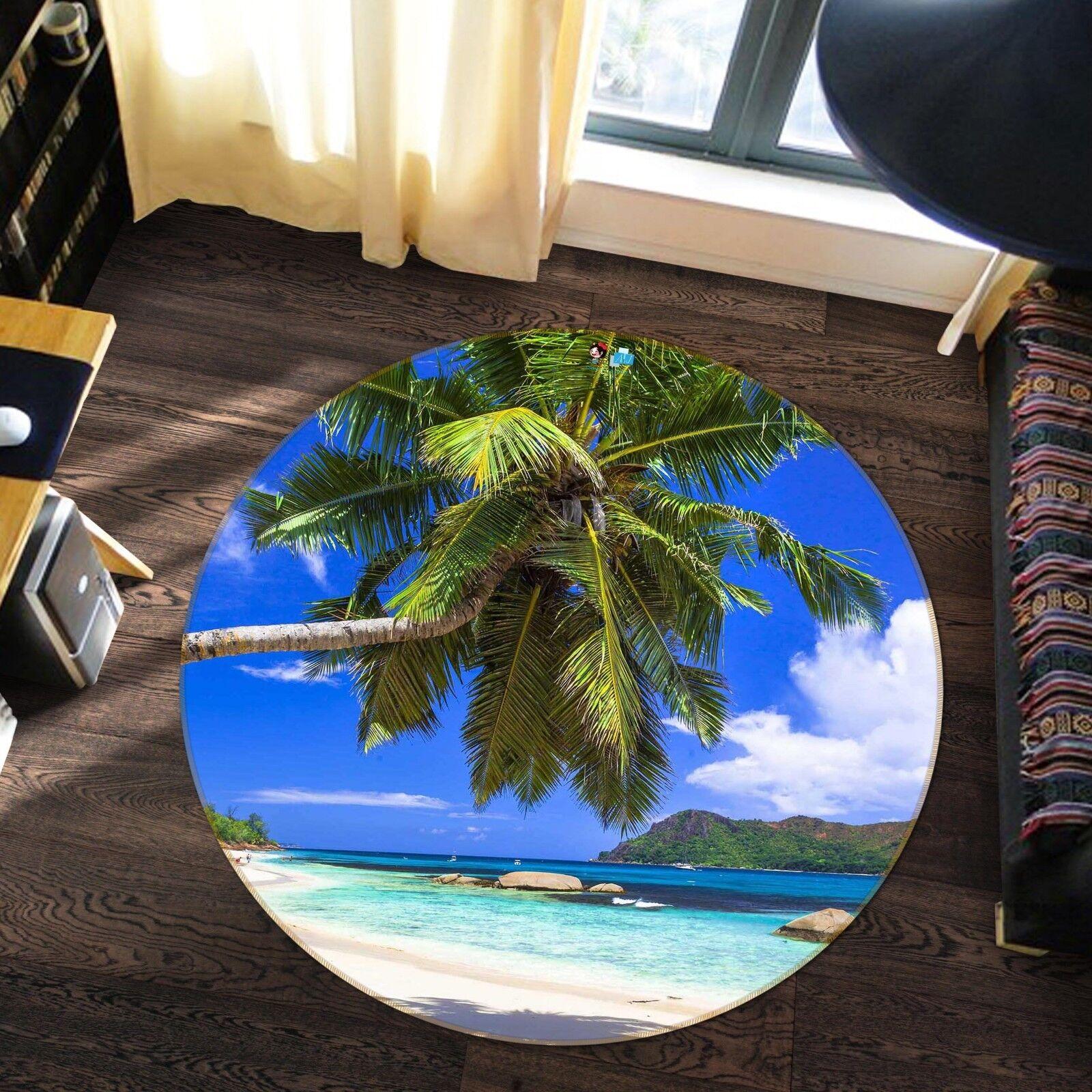 3d albero spiaggia 53 antiscivolo antiscivolo antiscivolo TAPPETO TAPPETINO BAGAGLIAIO giri elegante TAPPETO de f1625e