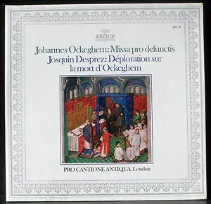 Ockeghem-Missa-pro-defunctis-Josquin-La-Nymphe-des-Bois-Bruno-Turner-LP-M-CV-NM