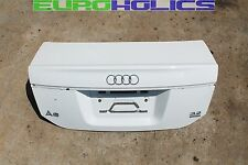 OEM Audi A6 C6 05-08 Rear Trunk Lid Hatch Tailgate Boot Sedan Shell IBIS WHITE