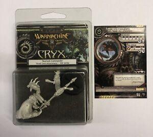 Bien Warmachine Cryx Skarlock Commander Emprise Pip 34104 Metal-afficher Le Titre D'origine