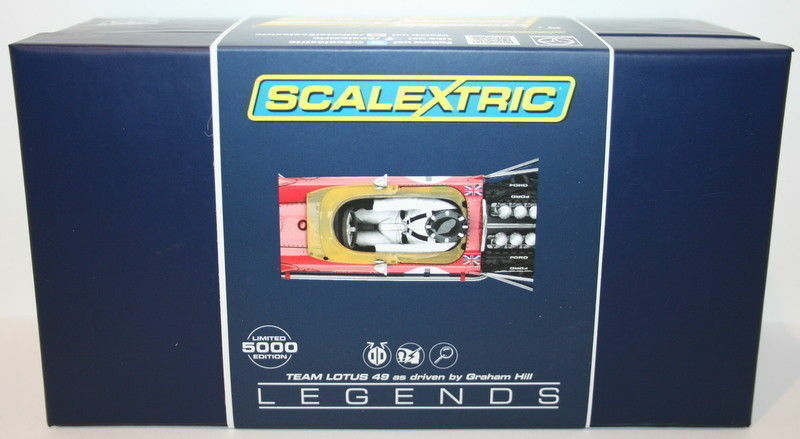 Scalextric 1 32 Scale C3701A - F1 Team Lotus 49 - Graham Hill