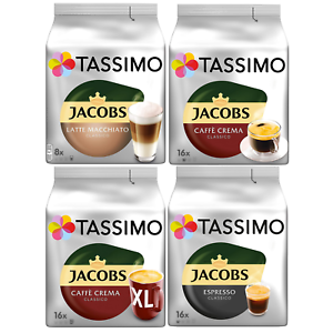 Tassimo Jacobs Coffee Pods Choose Your Flavor And Pack Size