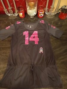 Nike NFL Womens Pink Breast Cancer Jersey - Cincinnati Bengals ...