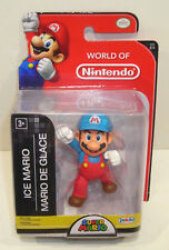 World of Nintendo ICE MARIO Action Figure SEALED Jakks Pacific 2.5 Inch 2-4 New