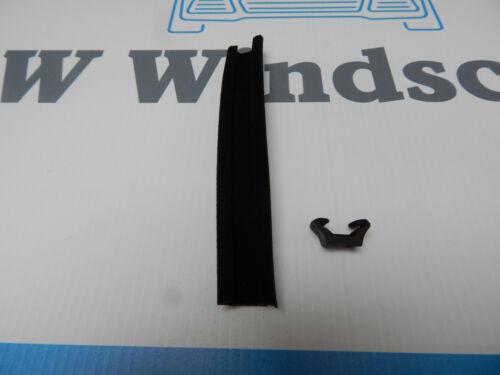 TRIUMPH piccoli FLOCCATI finestra scorrevole CHANNEL INSERT 12.5 mm x 10.5 mm per MTR