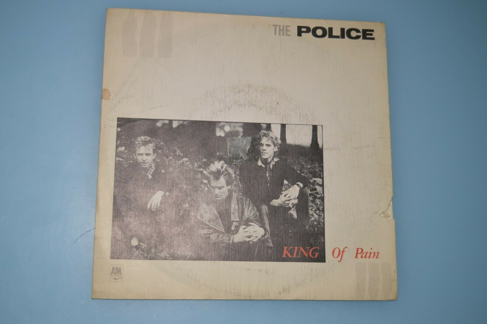 The Police – King Of Pain. VINILO SINGLE 7