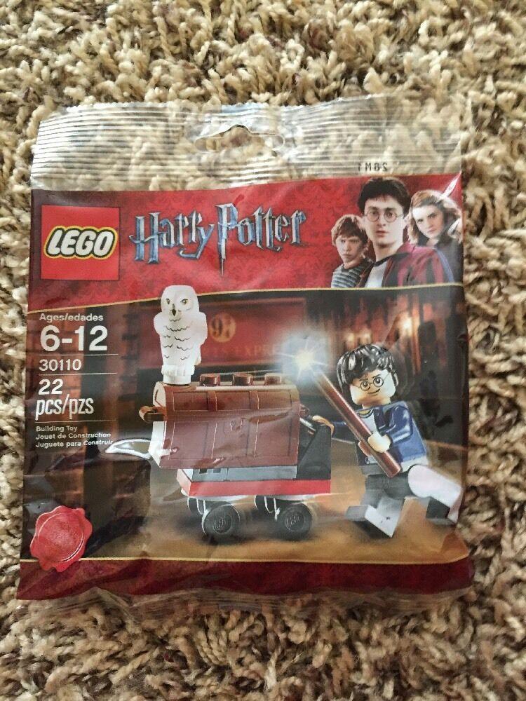 Lego 30110 Harry Potter avec coffre et Hedwig (Hibou)