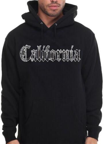 Men/'s California Bandana Print Hoodie Hooded Sweatshirt Old English Enjoy Cali