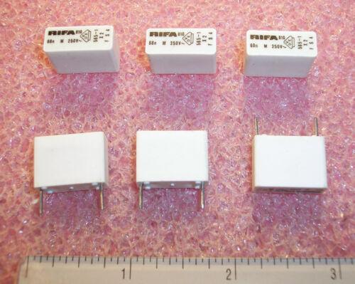 QTY .068uf 250Vac X2 INTERFERENCE SUPPRESSION FILM PHE810MB5680M RIFA 50