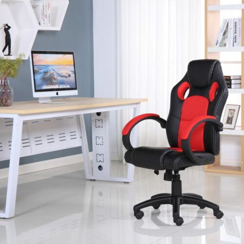 En cuir executive sports racing bureau gaming ordinateur étude chaise
