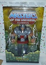 Masters of the Universe Classics Ram Man Figure (1st Issue w/box)