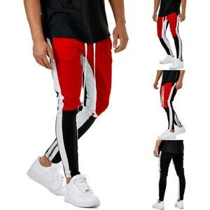 FL-Herren-Casual-Hosen-Sporthose-Hip-Hip-Lange-Legging-Fitnesshose-Pants-Jogging