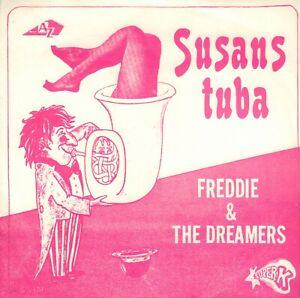 FREDDIE-amp-THE-DREAMERS-Susans-Tuba-1970-VINYL-SINGL-7-034-HOLLAND