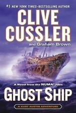 Ghost Ship (The NUMA Files) - Acceptable - Cussler, Clive - Hardcover