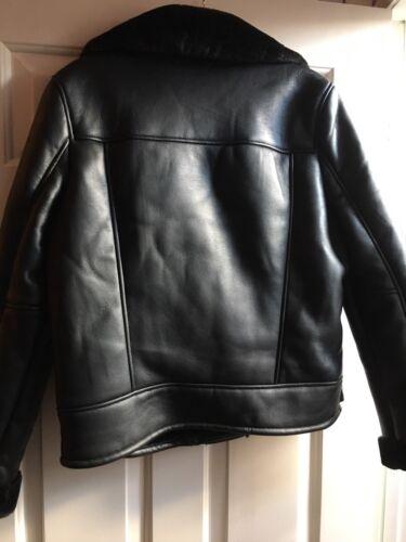 con tag Splendida Topshop da in Uk12 ecopelle ❤️ New giacca motociclista taglia H0gqS