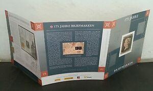 Germany Liechtenstein Austria Switzerland Joint Penny Black 2015 (folder set MNH