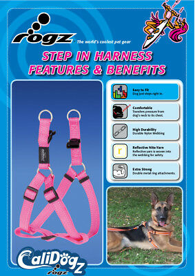 Lime X-Small Neck 6-9in Chest 9-12in Rogz Kitten Harness and Leash Set