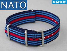 NATO 22mm MARTINIracing ( watch reloj orologio strap montre correa cinturino )