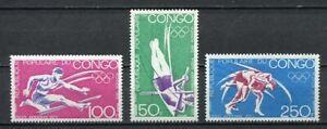 38079-Congo-Rep-1972-MNH-Olympic-Games-Munich-3v