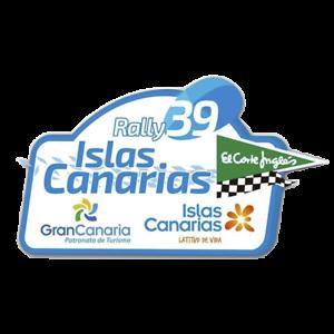PEGATINA PLACA RALLYE ISLAS CANARIAS 2015 PR347
