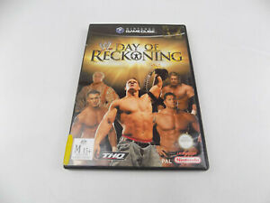 Mint Disc Nintendo Gamecube WWE Day of Reckoning PAL - Free Postage