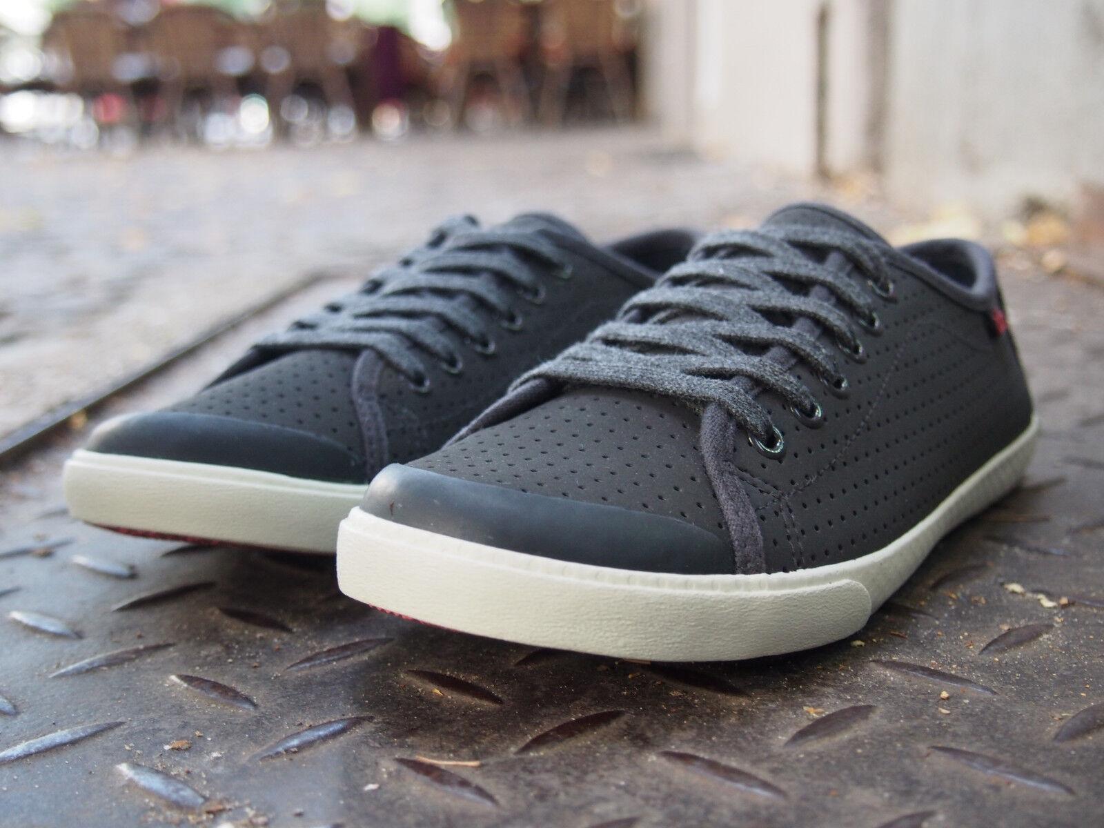 TBS Schuhe NEU Sneaker MURRAY dunkel grau Echtleder noir  Damen Halbschuhe