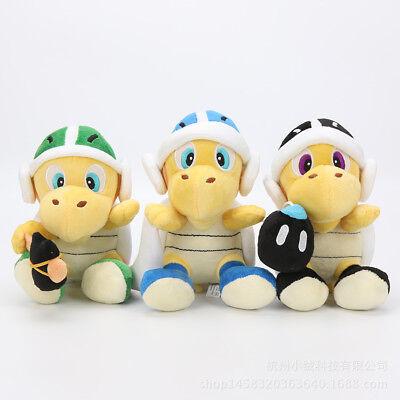 Stofftier Mario Mine Darts Hammer Schildkröte Puppen Plüschtiere Spielzeug Gesch