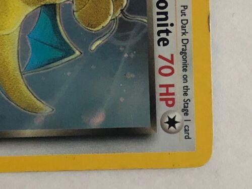Dark Dragonite - Team Rocket Set - 5/82 Rare Pokemon Card