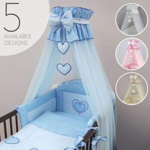 Krone Gitterbett Sonnendach Moskitonetz Groß Fassungen Baby Kinderbett Krippe