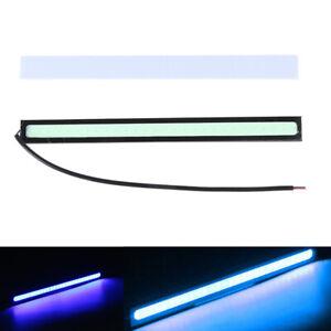 1Pc-17cm-Waterproof-COB-Car-Blue-LED-Lights-12V-DRL-Fog-Light-Driving-LampKTP