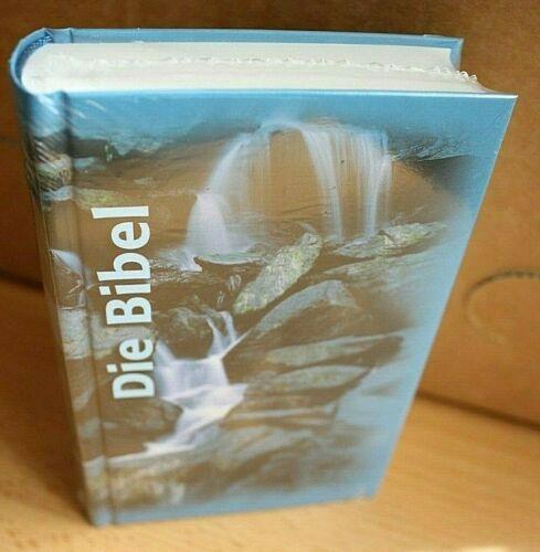 Neubuch Schlachter 2000 Wasserfall  Die Bibel Miniaturausgabe illustrierte