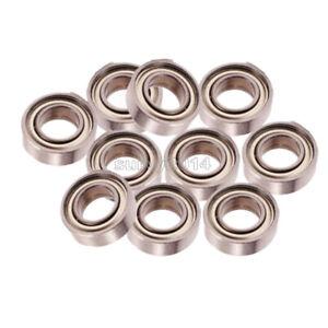 10PCS  8x16x5mm 688-2RS 688 RS Rubber Sealed Ball Bearing Miniature Bearings