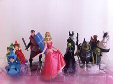Disney Store Sleeping beauty Princess Aurora figurine playset / cake topper New!