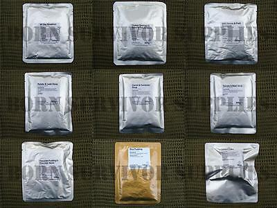 MRE Multi-Pack British Army Mod Camping and more! Perfect for Fishing,hiking