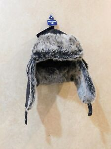 Image is loading Dockers-Mens-Plaid-Trapper-Hat-with-Faux-Fur- 4bd51649c5e4