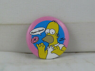 Universal Studios Homer Simpson With A Donut Pin The Simpsons