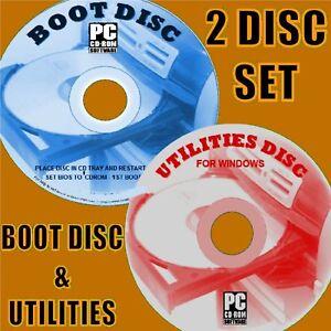 BOOT-DISK-REPAIR-RESCUE-TEST-FIX-WINDOWS-XP-VISTA-7-8-10-PC-LAPTOPS-2-DISC-SET