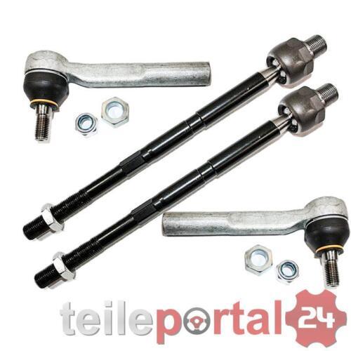 Endstück für Opel Zafira B Links Rechts für TRW Len 2x Axialgelenk Spurstange