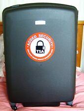 Carlton Glider III Suitcase black with TSA Lock 82 CM