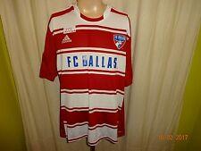 """FC Dallas Original Adidas Heim Trikot 2012/13 """"FC DALLAS"""" Gr.XXL TOP"""
