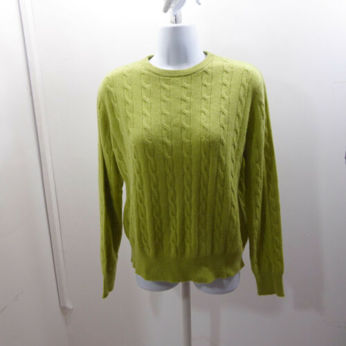 S M 90s cashmere sweater  vintage apple green cropped sleeveless cashmere sweater  cashmere tank top sweater
