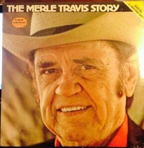 Sealed-MERLE-TRAVIS-2-LP-The-Merle-Travis-Story-CMH-9018-1979