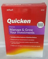 Intuit Quicken Premier 2012 Software - Personal Finance Made Easy - Retail Box