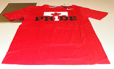 Team Canada 2014 Sochi Olympics S Red Team Pride Hockey T Shirt NWT