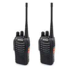 2 Piece Baofeng BF-888S UHF 400-470MHz 2-Way Radio Transcevier Walkie Talkie