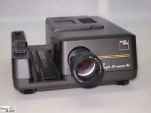 Zeiss-Royal-AF-Selectiv-Av-Dia-Projector-24-250W-Tele-Lens-Talon-5-29-32in-Smc