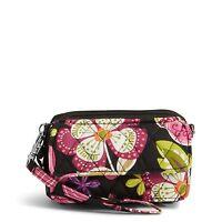 Vera Bradley Factory Exclusive All in One Crossbody Bag in Pirouette Pink