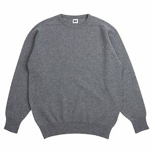 Community-Clothing-Women-039-s-Grey-Wool-Crew-Neck-Jumper