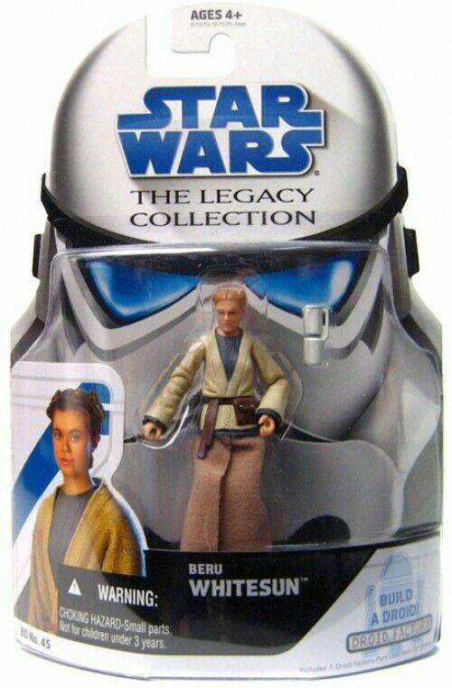 Star Wars Legacy Collection Collection Collection 2008 Droid Factory Beru Whitesun Action Figure 1b5728