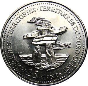 1992-Canada-125th-Northwest-Territories-25-Cents-Gem-BU-UNC-Quarter